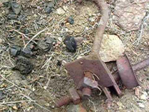 Artefacts At The Golden Queen Mine