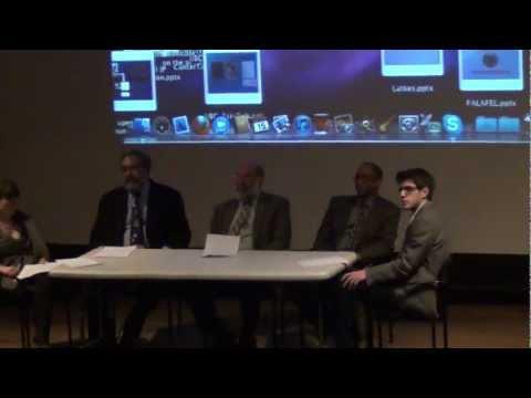 Princeton CJL Latke Hamentashen Debate 2012 part 1/5
