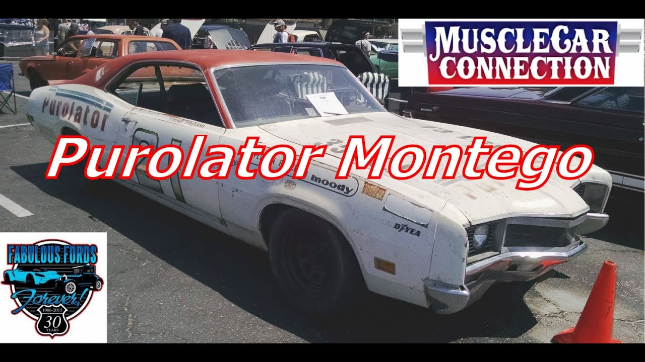 For Sale  12 500 1970 Mercury Montego Vintage Winston Cup Car at     For Sale  12 500 1970 Mercury Montego Vintage Winston Cup Car at Fabulous  Fords Forever 2015    YouTube