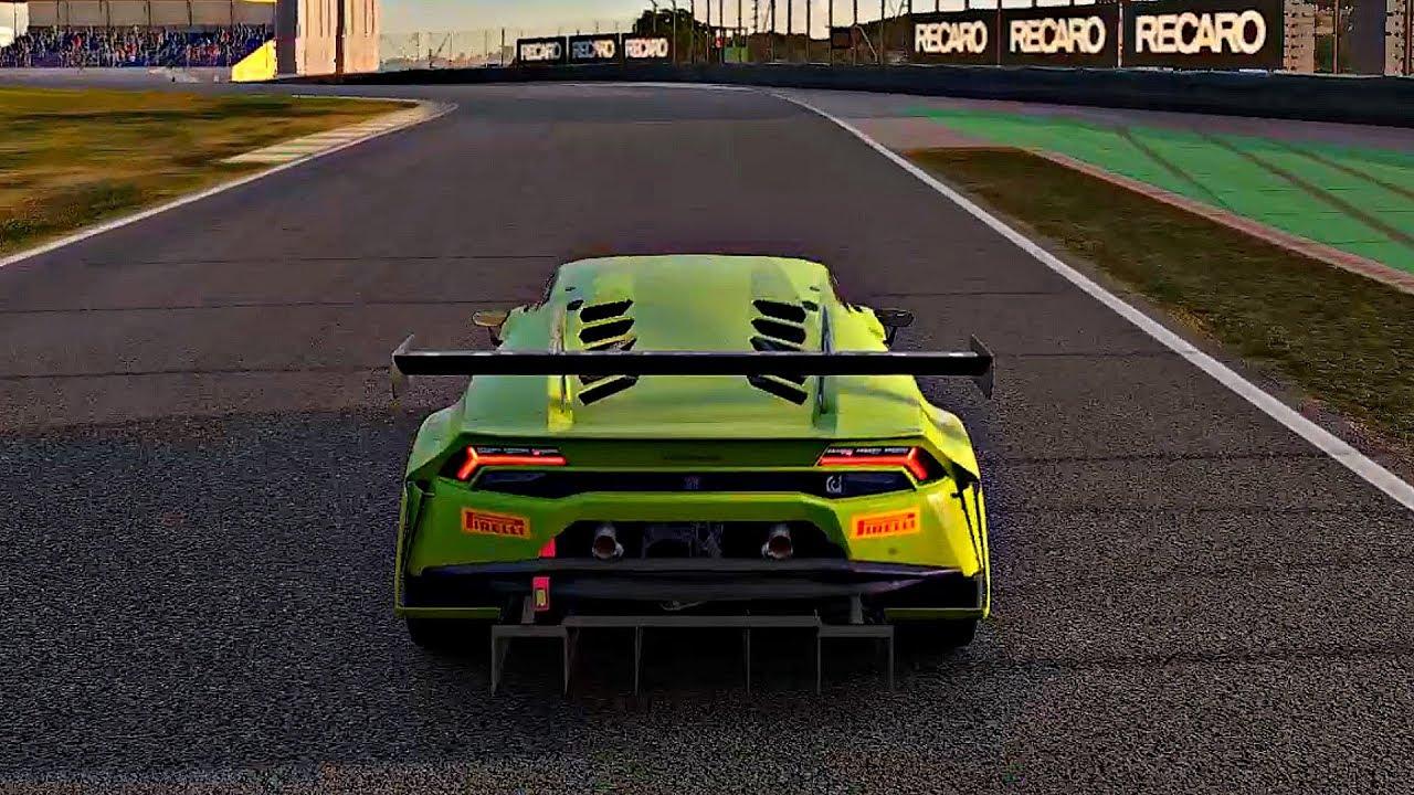 Gran Turismo Sport - Gameplay Lamborghini Huracan GT3 @ Interlagos Circuit [1080p 60fps] - YouTube