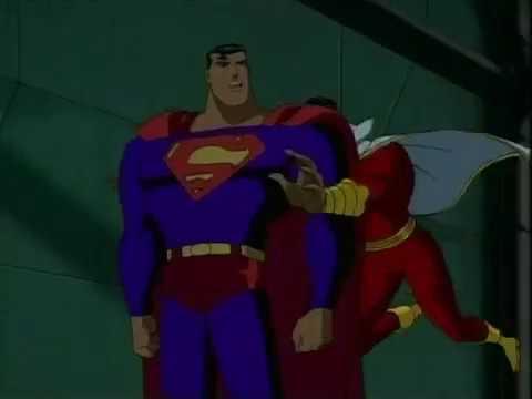 Superman vs Shazam (Justice League Unlimited -- Clash