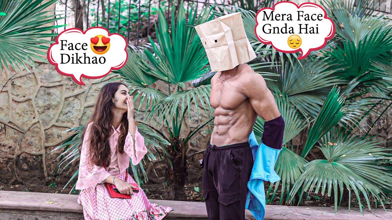 Shirtless Mask Man Picking Up Girls 🔥 || FitManjeet