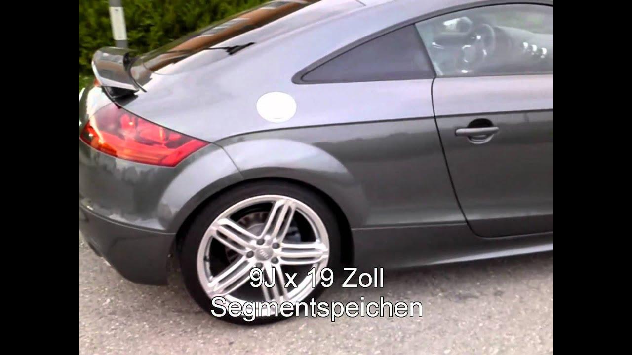 audi tt coupé 2.0tfsi 2010 - youtube