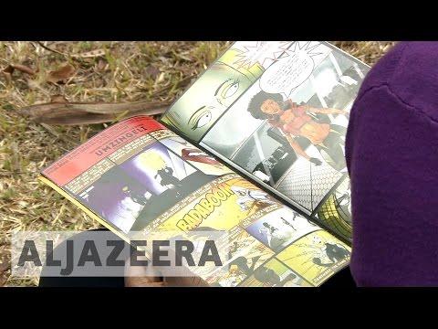 Zimbabwe's comic books tackle corruption