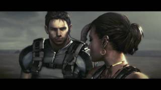 Resident Evil 5 PC Cutscene - Patrol Boat (Irving