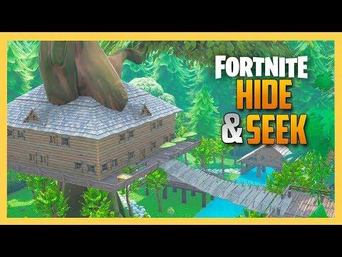 Tree House Hide And Seek In Fortnite Creative! | Swiftor