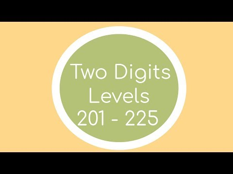 Two Digits (PC) - Levels 201 - 225 Solutions |