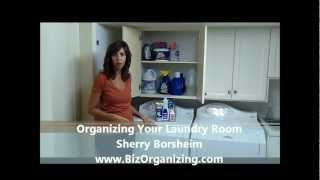 Organizing Tip: Organizing the Laundry Room Thumbnail