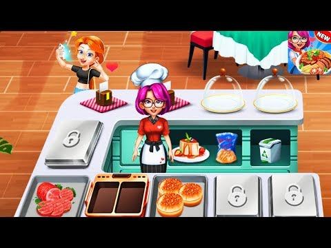 Cooking Idol A Chef Restaurant Cooking Game - BURGER & HOTDOG | Videos For Kids Mobile Game