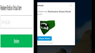 HOW TO GET GREEN BEAST MODE BANDANA ON ROBLOX