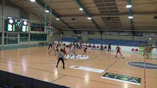 BSW Sixers vs. RheinStars Köln - ProB Germany | Lucien Schmikale #9 white