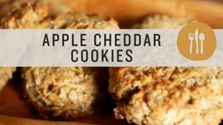 Apple Cheddar Cookies - Superfoods