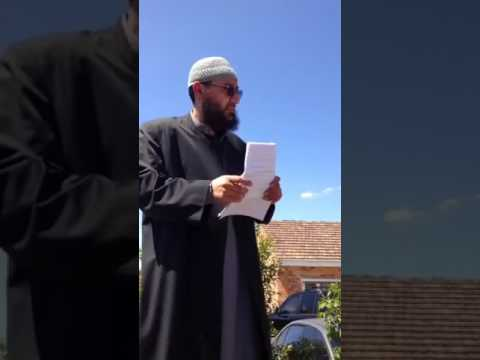 Imam of preston mosque