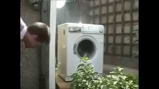 WASHING MACHINE CATCHES THE HOLY GHOST LOL