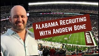 Live Alabama Football Recruiting Chat with Andrew Bone