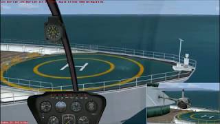 FSX:SE How could this be a crash! Robinson R22 Beta II / Princess Juliana Intl.
