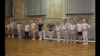 #Vlog 1 - Занятие хореографией младшая группа 3-4 годика, открытый урок танцев для родителей