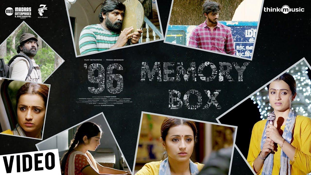 Memory Box '96   96 Movie   Vijay Sethupathi, Trisha   Govind Vasantha   C. Prem Kumar