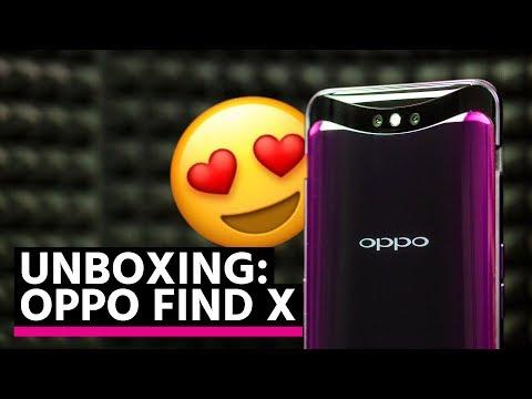 Unboxing de l'OPPO FIND X : le smartphone REVOLUTIONNAIRE ?