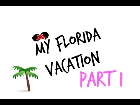 MY FLORIDA VACATION! PT 1  RENEE SCARLETT