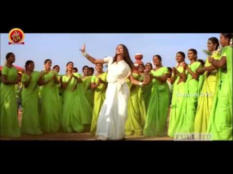 Varsham Video Song  -  Langa Voni Video Song - Prabhas And Trisha