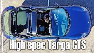 Highly optioned Porsche 911 Targa GTS 4 (991.2 generation)