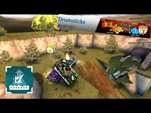 Tanki Online - Buying Drumsticks Bundle - Adrenaline Alteration + Crystalboxes/Crisis Drone!