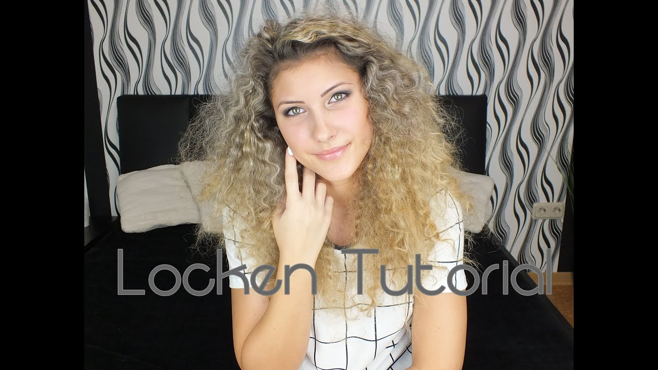 Afro locken tutorial