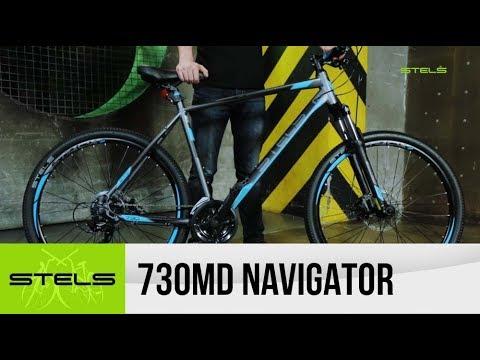 Обзор горного велосипеда STELS Navigator 730 MD