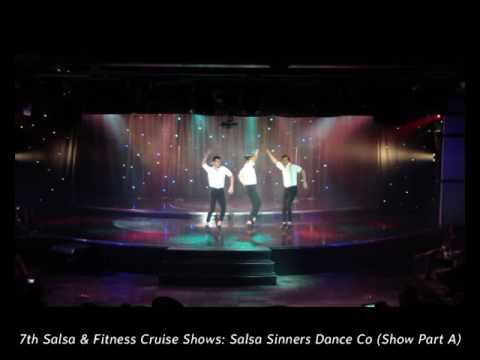7th Salsa & Fitness Cruise Shows  - Salsa Sinners Dance Co Show Part A