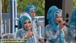 Sluku Sluku Bathok (Versi Prahu Layar ) - Qasima (Qasidah Irama Melayu) HD