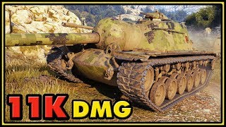 T110E3 - 11,7K Damage - World of Tanks Gameplay
