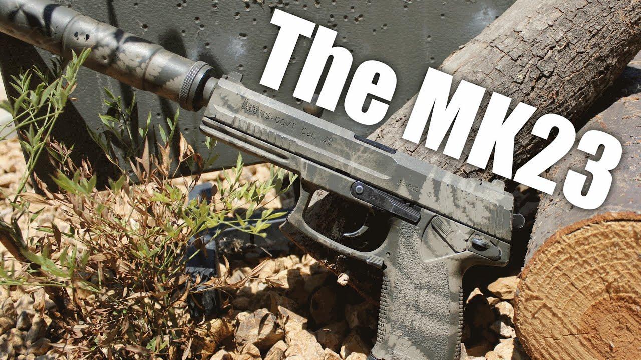 Airsoft Sniper Pistol | The MK23