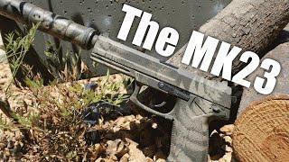 Airsoft Sniper Pistol   The MK23