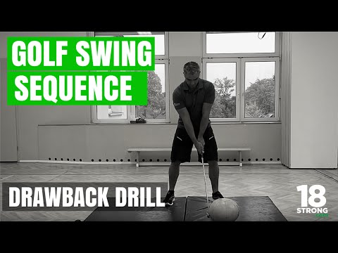 Golf Swing Sequence - Draw Back Drill