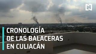 Crónica de las Balaceras en Culiacán | Testigo de las Balaceras en Culiacán - En Punto