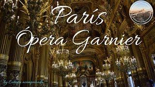 Opera Garnier,París. Tips de viaje,guía turística.