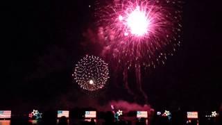 2013 4th of July Fireworks Display Finale at Disney's Magic Kingdom