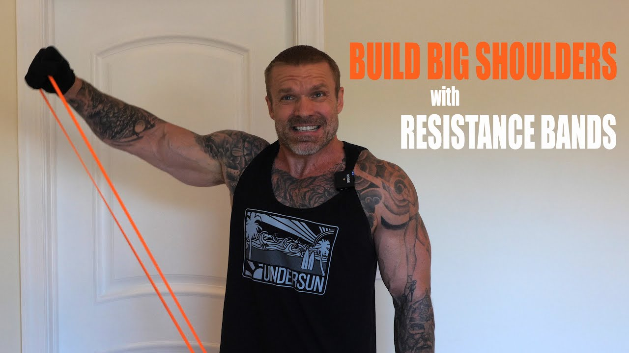 Awesome Resistance Bands Shoulder Workout You Can Do at Home - Build Muscle Anywhere!