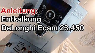 Cover images Anleitung: Entkalkung DeLonghi Ecam 23.450 Kaffeevollautomat