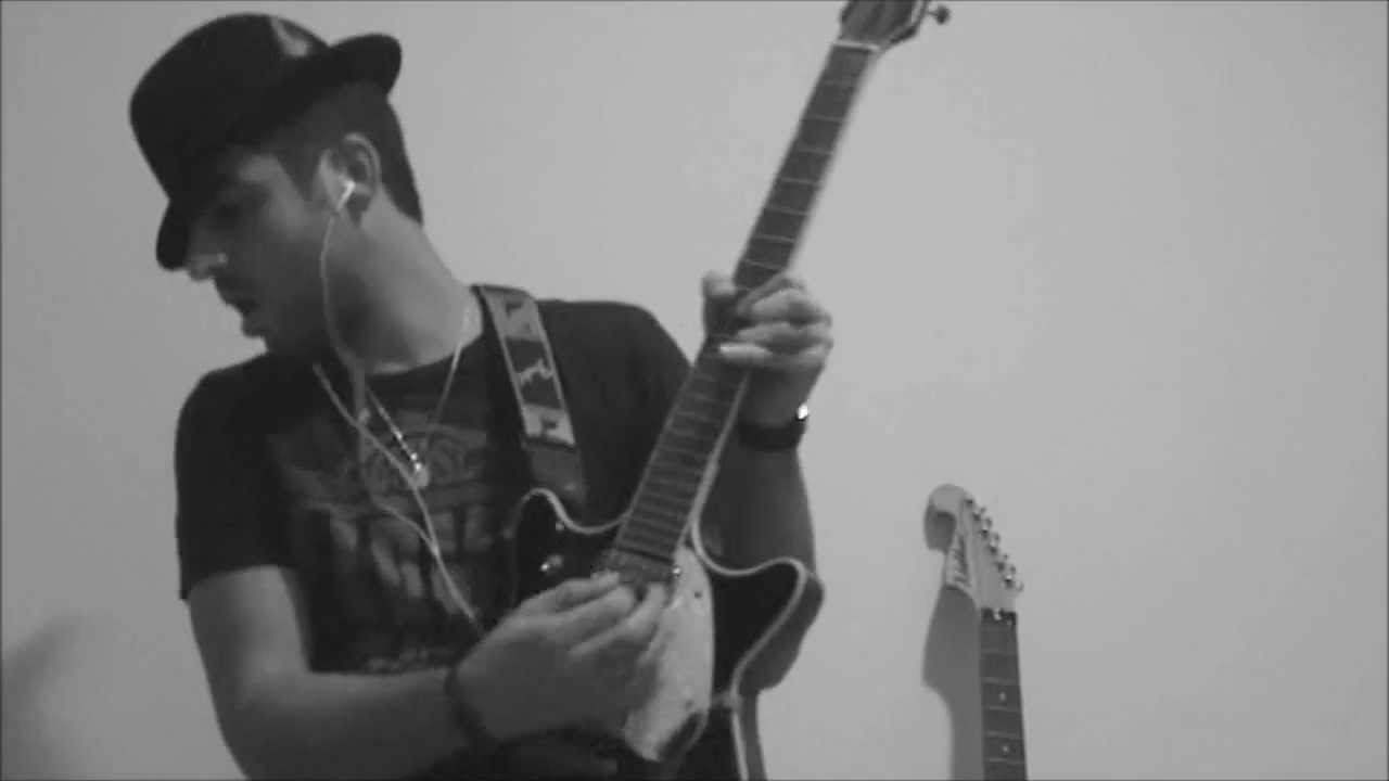 R Kelly - Home Alone - Live Guitar cover by Menjesbi - YouTube