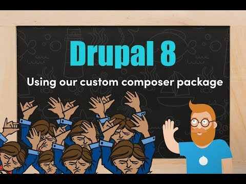 Using a composer package in our Drupal 8 custom module thumbnail