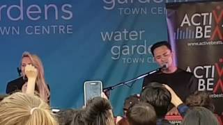 (Part 1) 17/11/16 - Samantha Jade & Cyrus - Hurt Anymore - Watergardens Town Centre - Melbourne