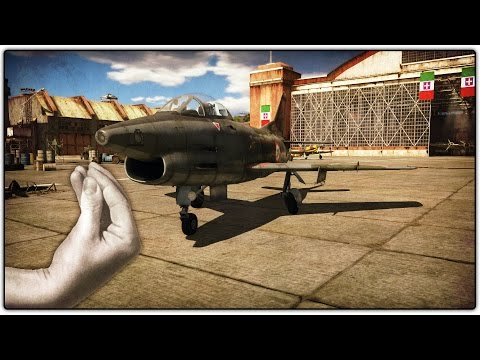 MOST MANEUVERABLE JET | G.91 Gameplay (War Thunder Trials)
