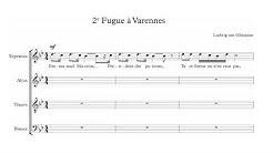 2e FUGUE A VARENNES (feat. les gilets jaunes)