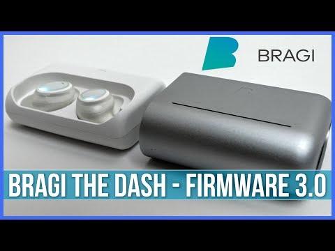 Bragi The Dash New Firmware 3.0