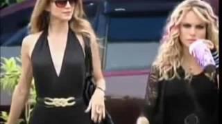 Comparação da cena em que Mia e Roberta se conhecem- Rebelde MX VS Rebelde BR