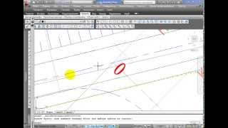 AutoCad Civil 3D Создание примыкания Урок 1