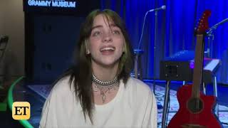 Billie Eilish Talks About Camila Cabello Her World Tour And More Entertainment Tonight