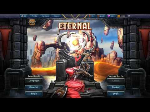 [You Should Play...] Eternal CCG. The best digital CCG I've played?!